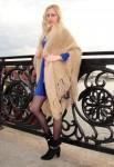 Шаль пуховая женская «Светлые Грезы» .