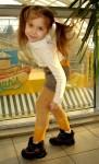 Штаны детские вязаные «Подсолнечник» из собачьей шерсти .