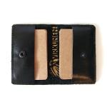 Кардхолдер из натуральной кожи для хранения визиток и пластиковых карт