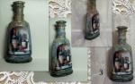 Бутылочки для Вашей кухни. Декупаж.