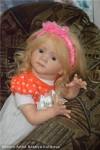 кукла реборн Златовласка