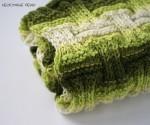 Полосатый зелёный снуд