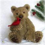 Реалистичный медведь Тедд
