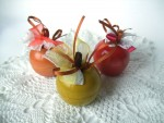 Шкатулка-яблочко