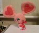 Мышка-Валентинка