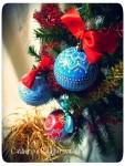 Елочный новогодний шар *Красно солнышко*