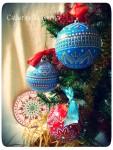 Елочный новогодний шар *Снежный*