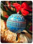 Елочный новогодний шар *Морозные узоры*
