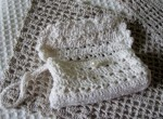 Сумочка вязанная текстильная.