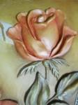 Объемная модульная картина Розы.