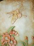 Объемная картина Ветка сакуры.