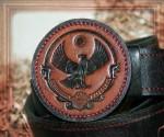 Авторский ремень ручной работы - Дагестан