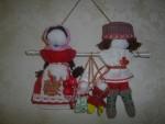 Славянские свадебные обережные куклы Неразлучники