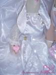 Подарок на свадьбу. Свадебные зайки-тильды (жених и невеста)