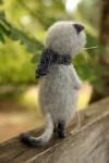 Интерьерная игрушка котенок