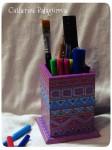 Карандашница-подставка *Геометрия цвета*