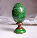 Деревянное Пасхальное яйцо на подставке. Декупаж.