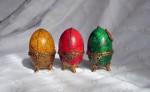 Пасхальное яйцо ЖЁЛТОЕ.Имитация камня.