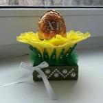Декоративная подставка в виде розы