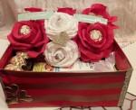 Подарочный набор: свит композиция и косметические средства