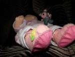 кукла-сплюшка из фетра