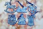 Набор новогодних игрушек на ёлку