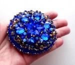 Зеркало сувенирное «Безмятежная синева»