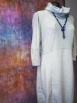 Платье-баллон из футера