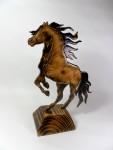 Лошадь, деревянная статуэтка, фигурка, ретивая