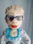 Кукла Наталья.Скульптурный текстиль. Авторская ручная работа.