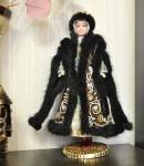 Исторический костюм на кукле БарбиРОССИЯКостюм боярыни