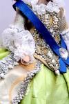 Исторический костюм на кукле БарбиРОССИЯКостюм «Екатерина Великая»