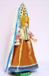 Исторический костюм на кукле БарбиРОССИЯКостюм крестьянки