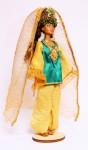 Исторический костюм на кукле БарбиТУРЦИЯ  Османская империя XVI—XVII век. Костюм госпожи
