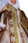 Исторический костюм на кукле Барби  Испания Ренессанс  14-16 век