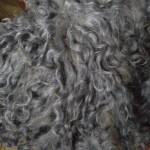 Локоны пуховые 15-17 см белые