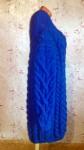 Платье оверсайз из толстой пряжи