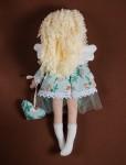 Интерьерная текстильная кукла Ангел с сердечком