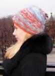 Шапка женская вязанная «Молодежная» ручного вязания.