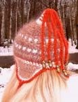 Шапка женская зимняя «ЗЕНА» .Комплект вязаный.