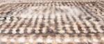 Плед артикул№21пл  вязанный из собачьей   шерсти 188 х 168.