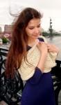 Снуд  «Топленое Молоко»  шерстяной ручного вязания .