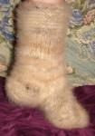 Носки женские  комфортные из собачьей шерсти .