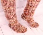 Носки-гольфы  целебные из собачьей шерсти.