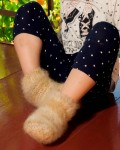 Носки  пуховые детские из подшерстка колли.
