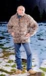 Кардиган  мужской ручного вязания «Пикассо» .