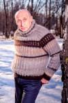Свитер мужской «Водолаз 2» из собачьей шерсти