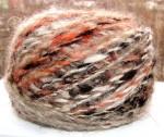 Пряжа пуховая «Радуга-2» дизайнерская   для ручного вязания 130м100гр.