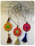 Кулоны-подвески круглые деревянные *Яркость бытия*
