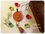 Кулоны-подвески круглые деревянные *На счастье!*